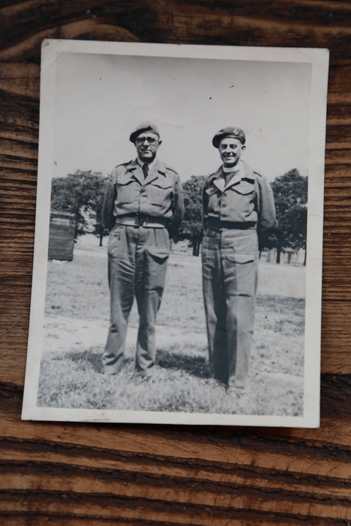 Rev E O Sutton - Methodist Minister - Army Chaplain - Liberation of Belsen