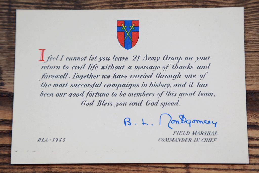 Rev E O Sutton - Methodist Minister - Army Chplain - Liberation of Bergen-Belsen