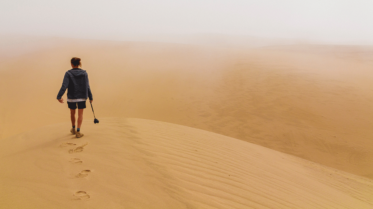 Lessons from the desert - dealing with change - Anne Buckland - Photo by Ryan Cheng on Unsplash